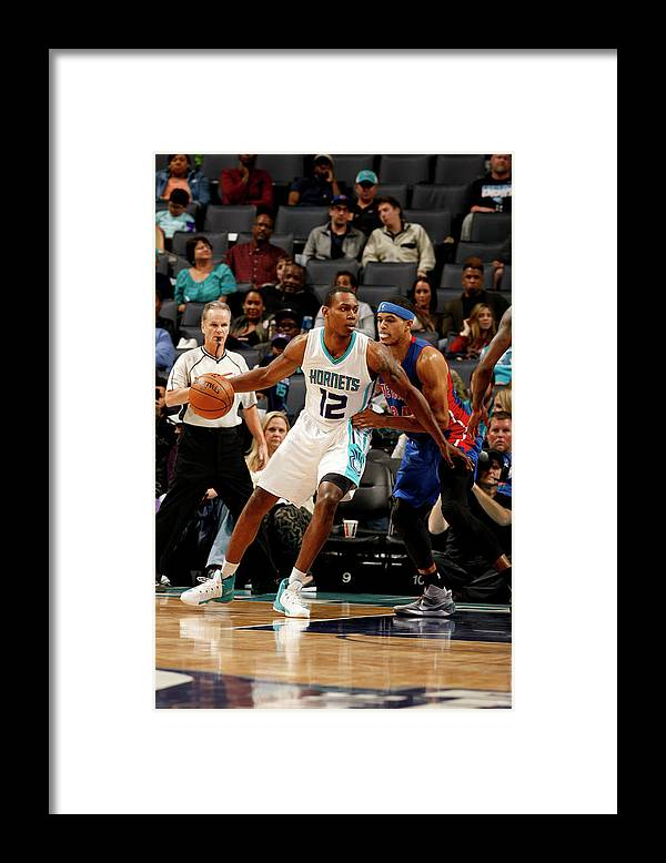 Nba Pro Basketball Framed Print featuring the photograph Treveon Graham by Kent Smith