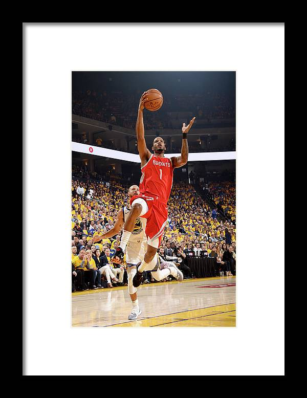 Playoffs Framed Print featuring the photograph Trevor Ariza by Andrew D. Bernstein
