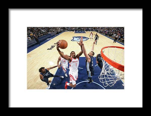 Nba Pro Basketball Framed Print featuring the photograph Trevor Ariza by Joe Murphy