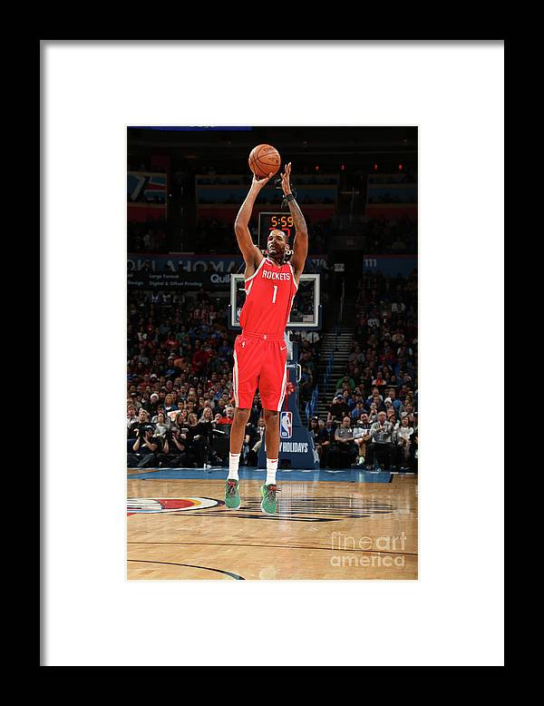 Nba Pro Basketball Framed Print featuring the photograph Trevor Ariza by Layne Murdoch