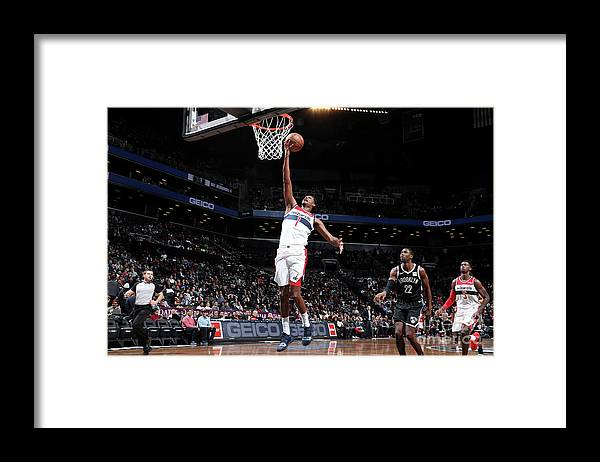 Nba Pro Basketball Framed Print featuring the photograph Trevor Ariza by Nathaniel S. Butler