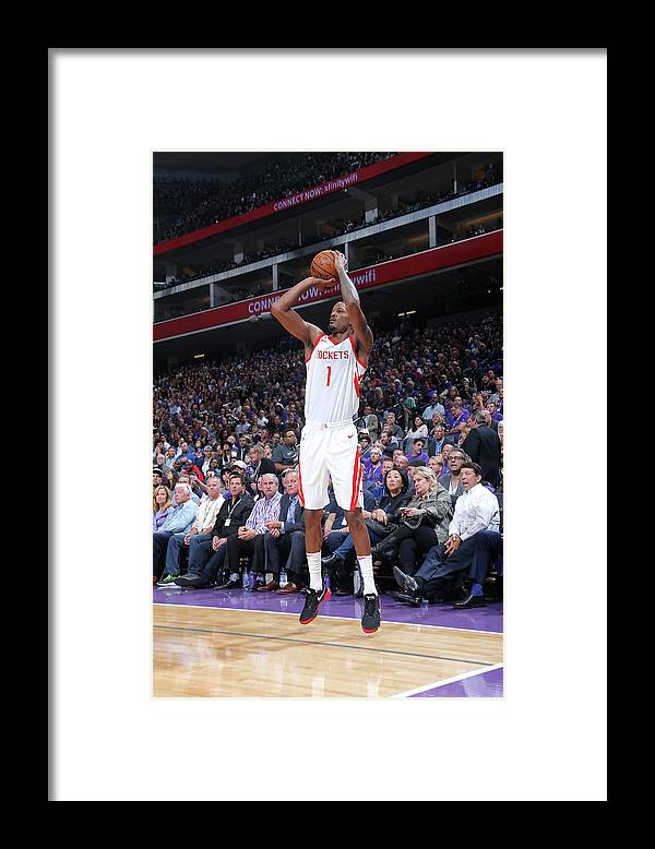 Nba Pro Basketball Framed Print featuring the photograph Trevor Ariza by Rocky Widner