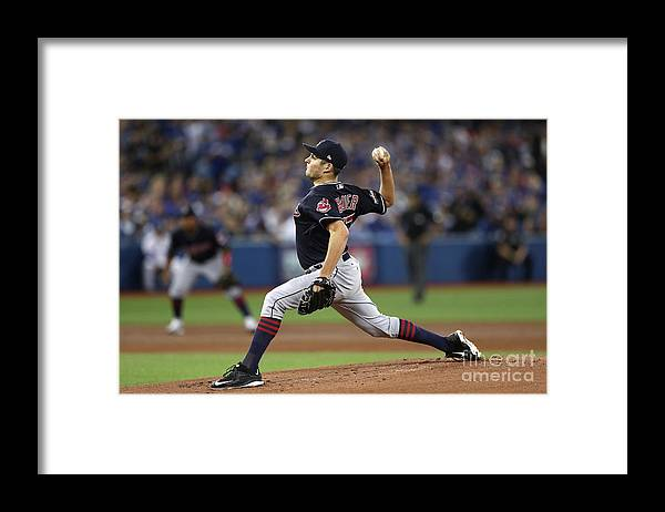 People Framed Print featuring the photograph Trevor Bauer by Elsa
