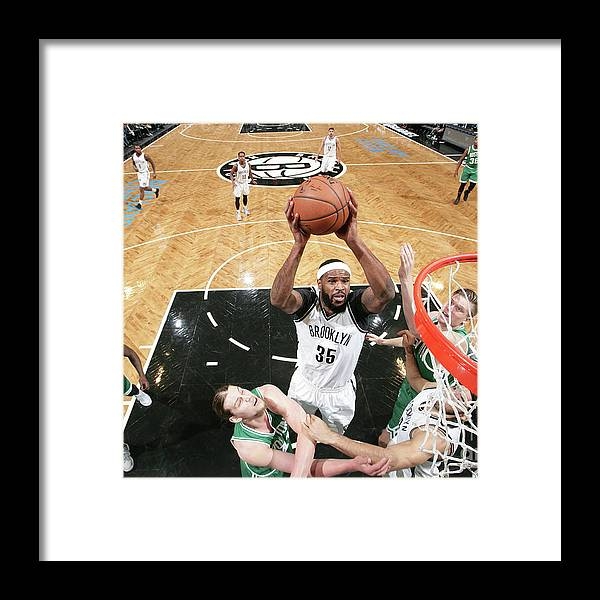 Nba Pro Basketball Framed Print featuring the photograph Trevor Booker by Nathaniel S. Butler