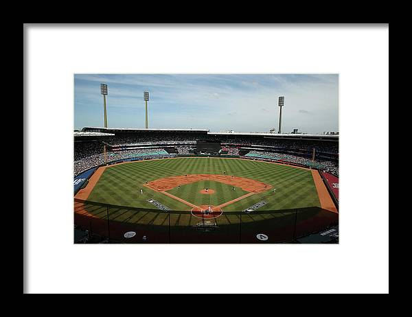 Baseball Pitcher Framed Print featuring the photograph Trevor Cahill by Mark Metcalfe