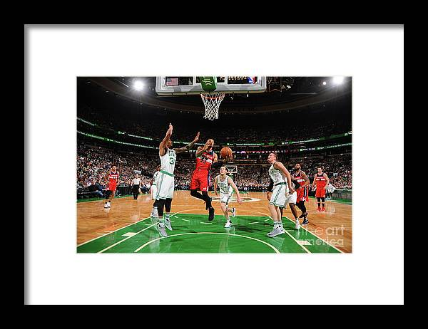 Nba Pro Basketball Framed Print featuring the photograph Trey Burke by Brian Babineau