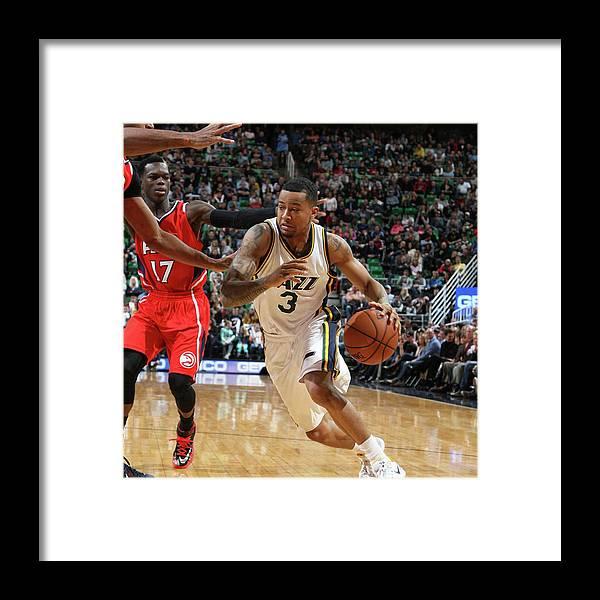 Sport Framed Print featuring the photograph Trey Burke by Melissa Majchrzak