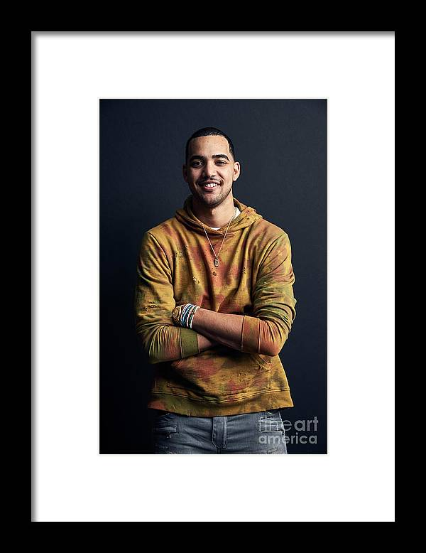 Event Framed Print featuring the photograph Trey Lyles by Jennifer Pottheiser