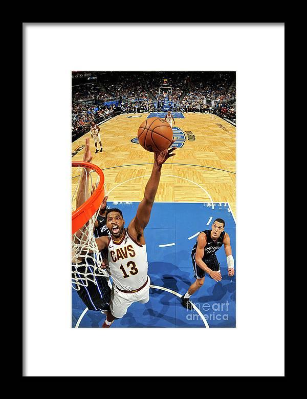 Nba Pro Basketball Framed Print featuring the photograph Tristan Thompson by Fernando Medina
