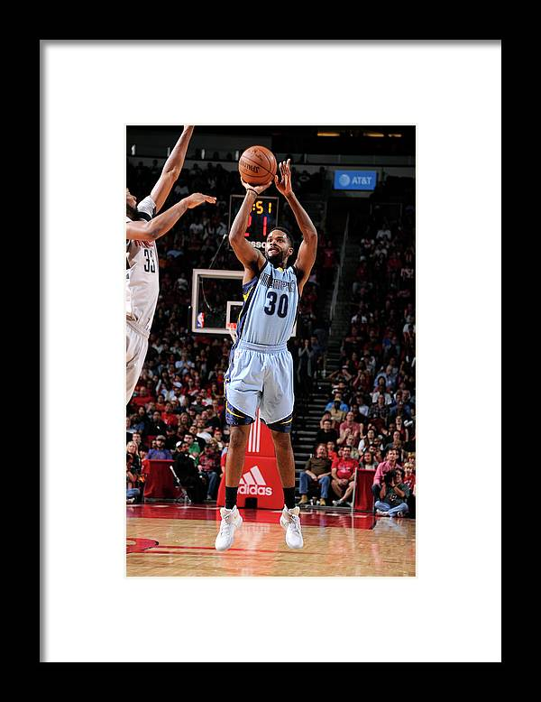 Nba Pro Basketball Framed Print featuring the photograph Troy Daniels by Bill Baptist