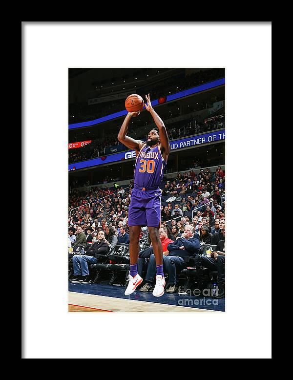 Nba Pro Basketball Framed Print featuring the photograph Troy Daniels by Ned Dishman