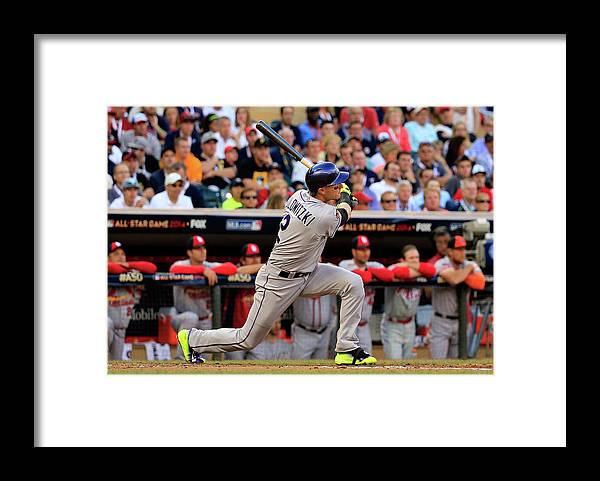American League Baseball Framed Print featuring the photograph Troy Tulowitzki by Rob Carr