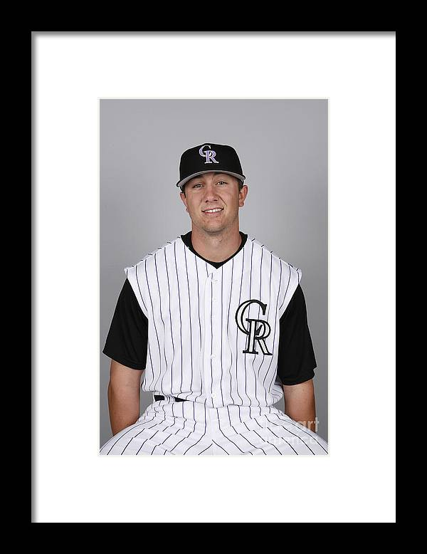Media Day Framed Print featuring the photograph Troy Tulowitzki by Ron Vesely
