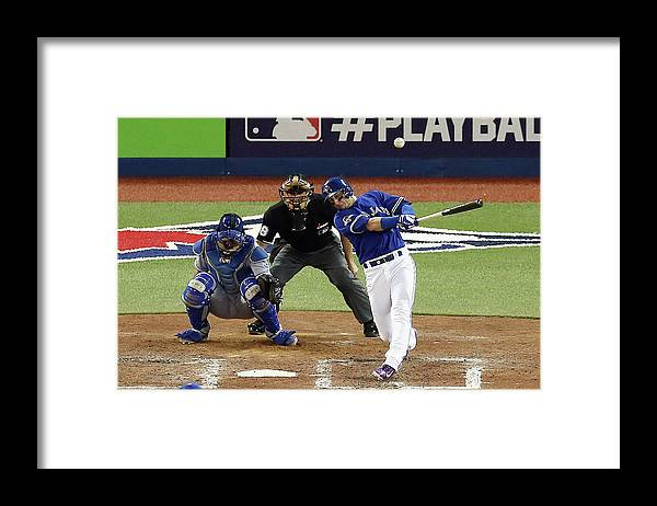 People Framed Print featuring the photograph Troy Tulowitzki by Vaughn Ridley