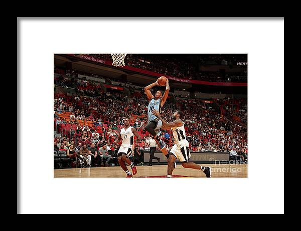 Nba Pro Basketball Framed Print featuring the photograph Troy Williams by Issac Baldizon