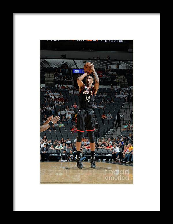 Playoffs Framed Print featuring the photograph Troy Williams by Mark Sobhani