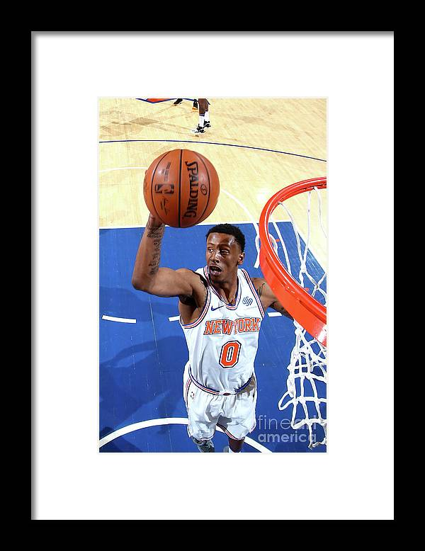 Nba Pro Basketball Framed Print featuring the photograph Troy Williams by Nathaniel S. Butler