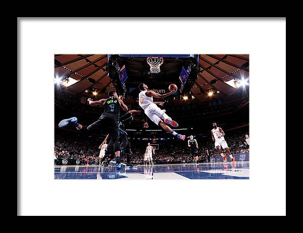 Sports Ball Framed Print featuring the photograph Troy Williams by Nba Photos