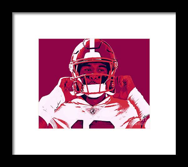Tua Framed Print featuring the painting Tua by Jack Bunds