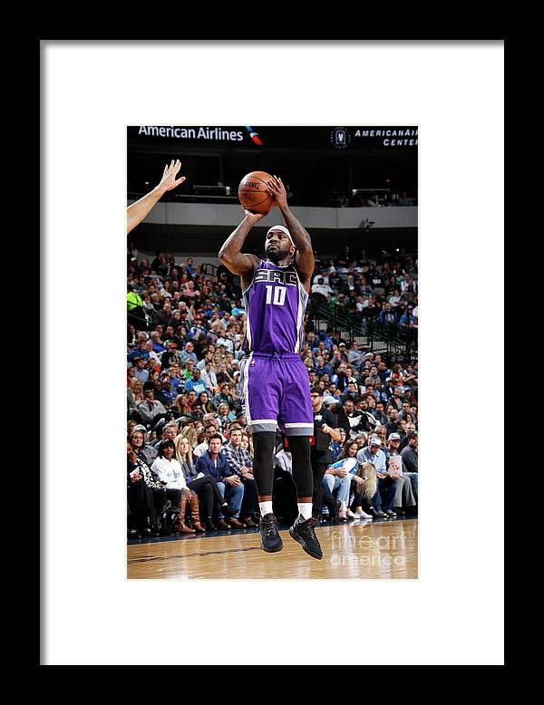 Nba Pro Basketball Framed Print featuring the photograph Ty Lawson by Danny Bollinger