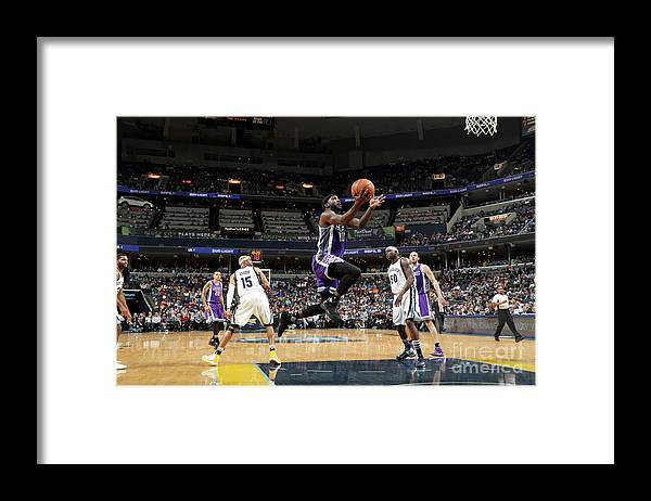 Nba Pro Basketball Framed Print featuring the photograph Ty Lawson by Joe Murphy