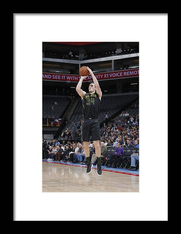 Nba Pro Basketball Framed Print featuring the photograph Tyler Cavanaugh by Rocky Widner