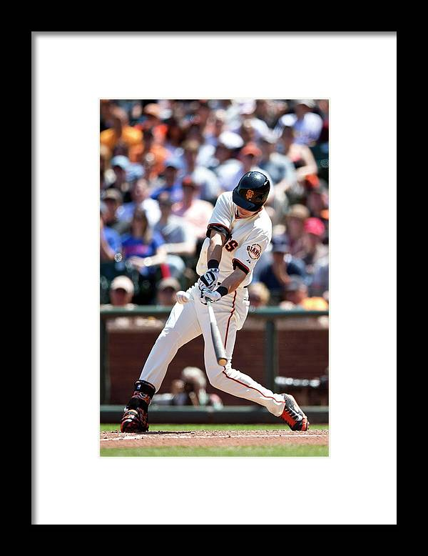 San Francisco Framed Print featuring the photograph Tyler Colvin by Jason O. Watson