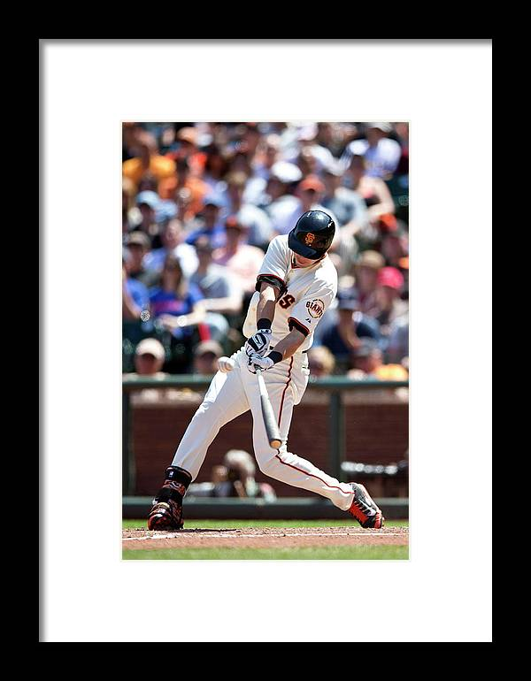 San Francisco Framed Print featuring the photograph Tyler Colvin by Jason O. Watson