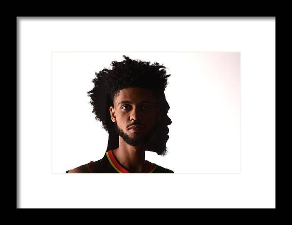 Nba Pro Basketball Framed Print featuring the photograph Tyler Dorsey by Brian Babineau