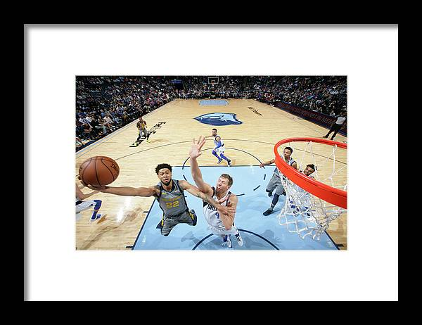 Nba Pro Basketball Framed Print featuring the photograph Tyler Dorsey by Joe Murphy