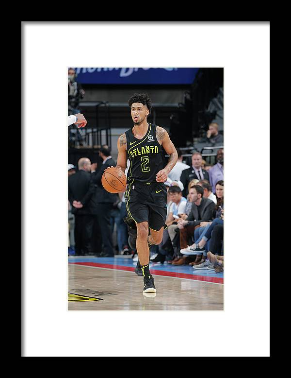 Nba Pro Basketball Framed Print featuring the photograph Tyler Dorsey by Rocky Widner