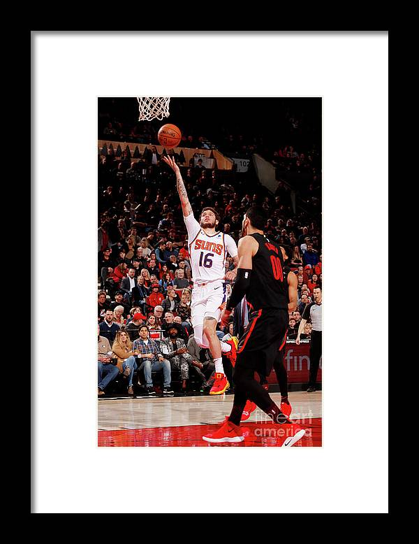 Nba Pro Basketball Framed Print featuring the photograph Tyler Johnson by Cameron Browne