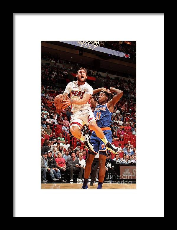 Nba Pro Basketball Framed Print featuring the photograph Tyler Johnson by Issac Baldizon