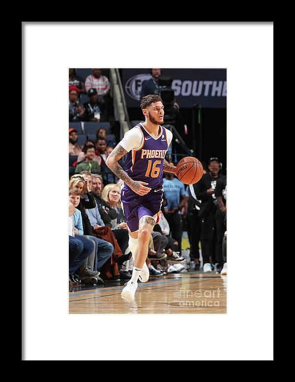 Nba Pro Basketball Framed Print featuring the photograph Tyler Johnson by Joe Murphy