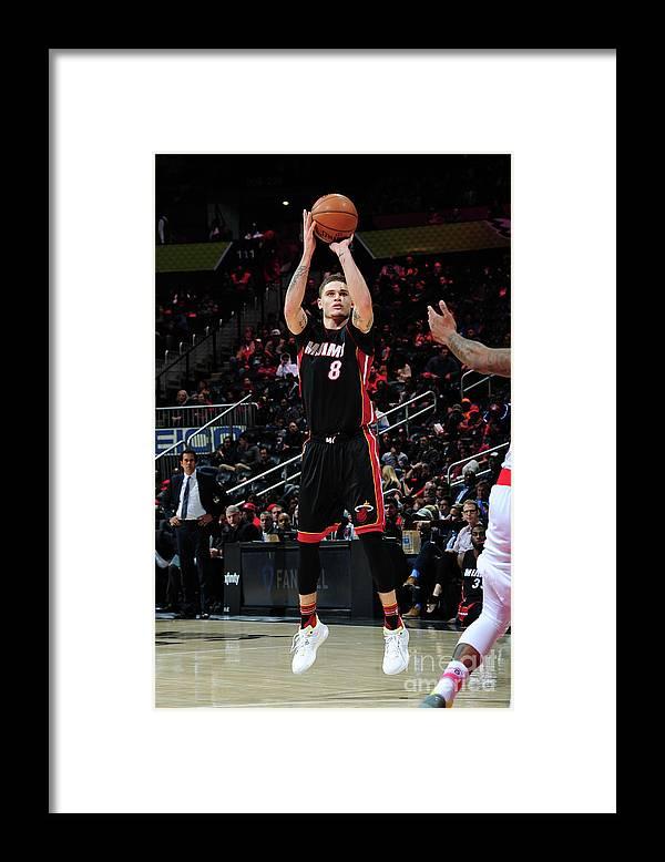 Atlanta Framed Print featuring the photograph Tyler Johnson by Scott Cunningham