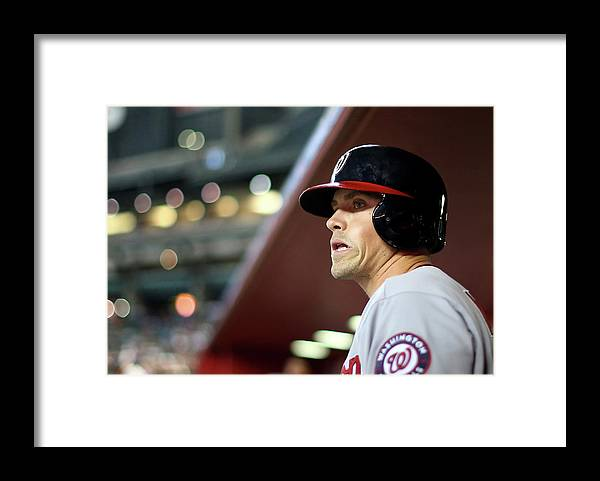 National League Baseball Framed Print featuring the photograph Tyler Moore by Christian Petersen