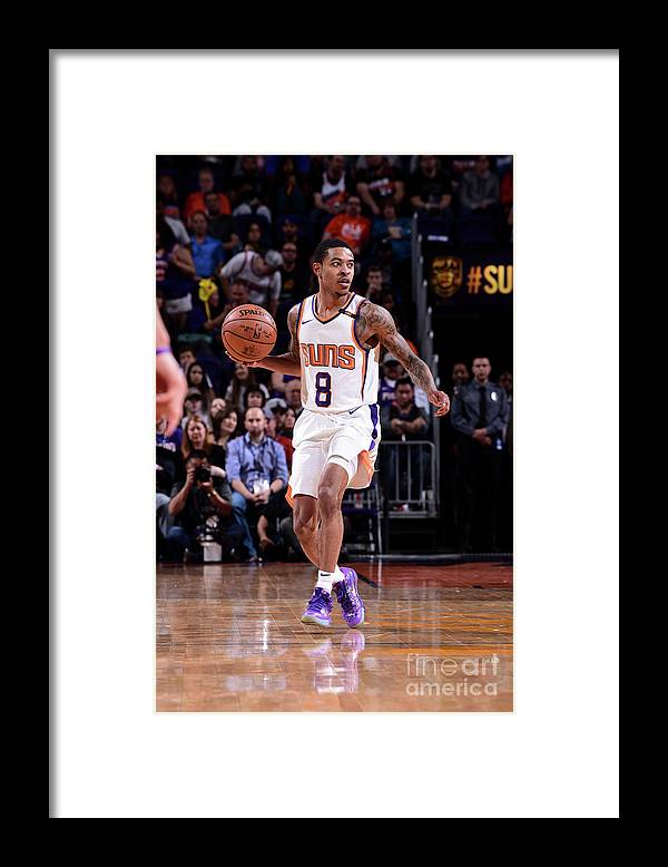 Nba Pro Basketball Framed Print featuring the photograph Tyler Ulis by Michael Gonzales