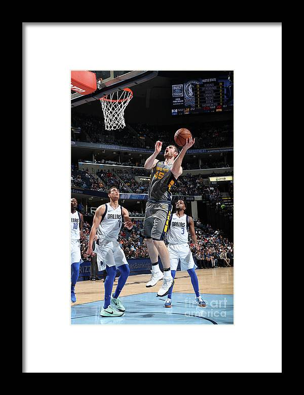 Nba Pro Basketball Framed Print featuring the photograph Tyler Zeller by Joe Murphy
