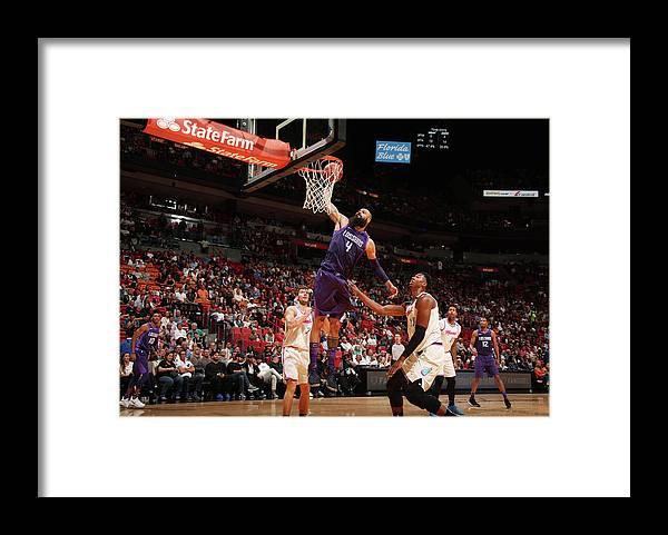Nba Pro Basketball Framed Print featuring the photograph Tyson Chandler by Issac Baldizon