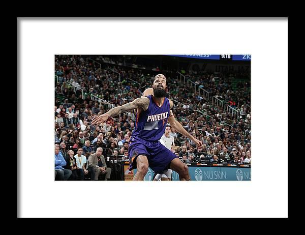 Nba Pro Basketball Framed Print featuring the photograph Tyson Chandler by Melissa Majchrzak
