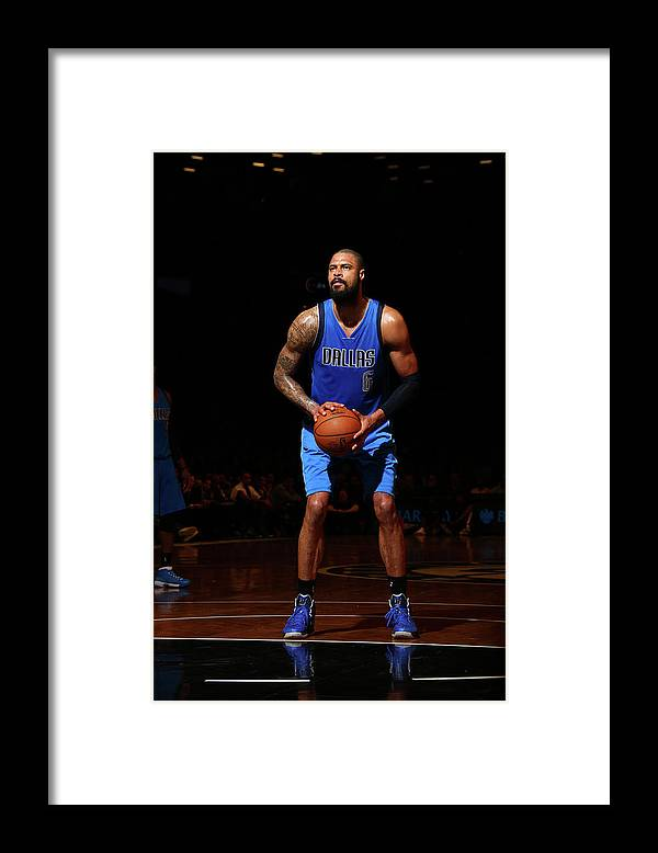 Nba Pro Basketball Framed Print featuring the photograph Tyson Chandler by Nathaniel S. Butler