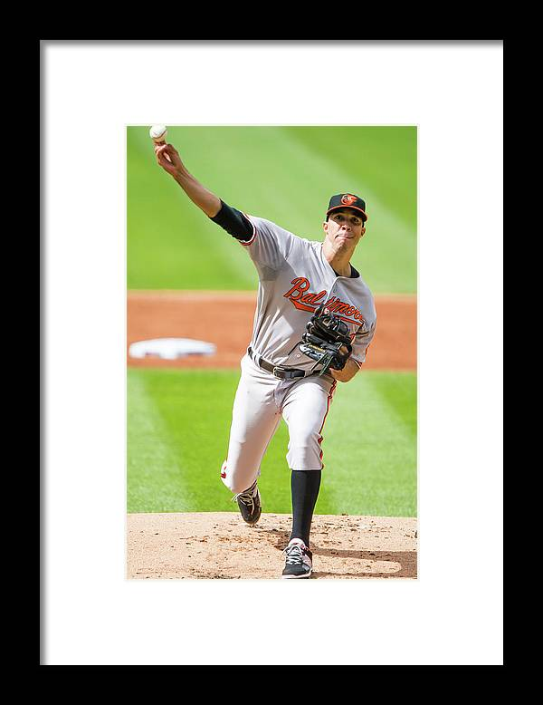 People Framed Print featuring the photograph Ubaldo Jimenez by Jason Miller