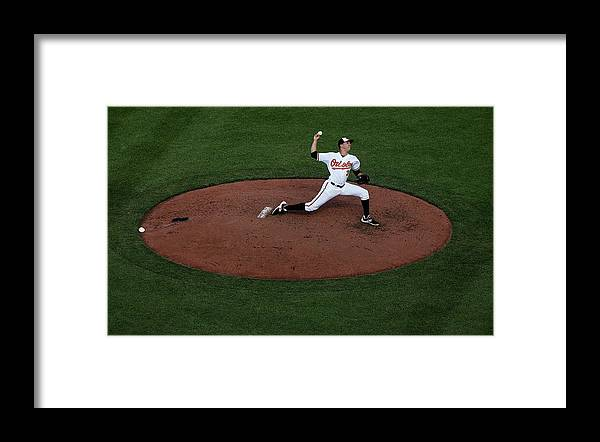 People Framed Print featuring the photograph Ubaldo Jimenez by Rob Carr