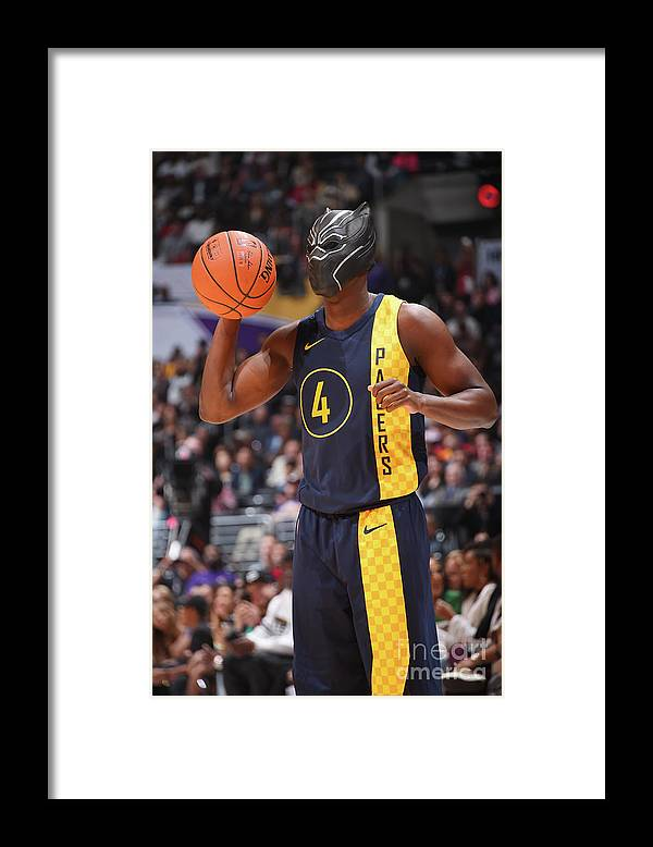 Event Framed Print featuring the photograph Victor Oladipo by Andrew D. Bernstein
