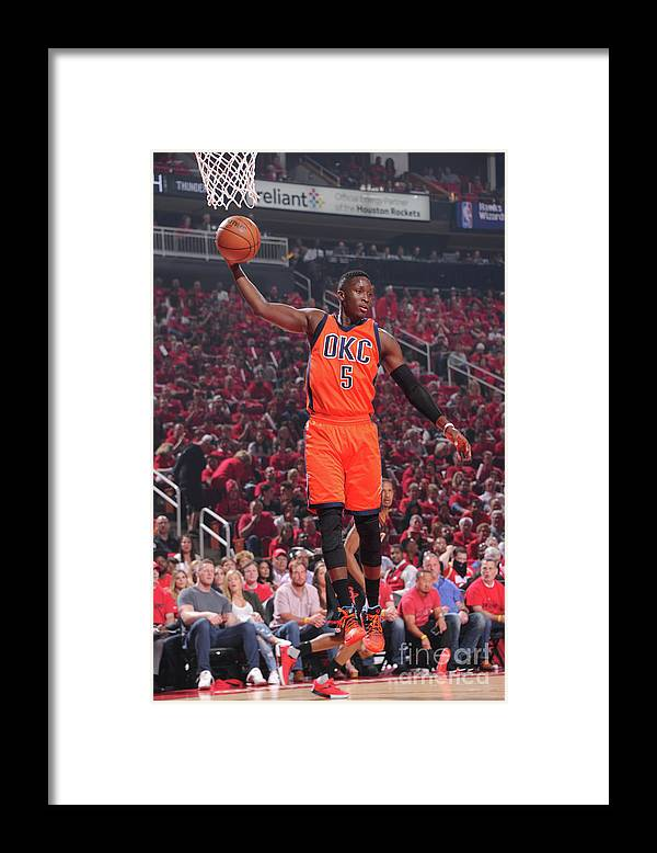 Playoffs Framed Print featuring the photograph Victor Oladipo by Bill Baptist