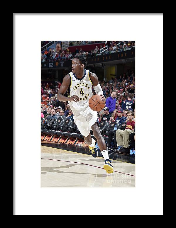 Sport Framed Print featuring the photograph Victor Oladipo by David Liam Kyle