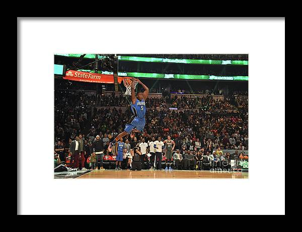 Event Framed Print featuring the photograph Victor Oladipo by Jesse D. Garrabrant