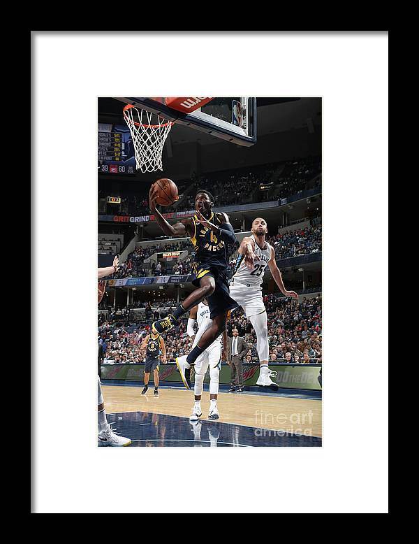 Nba Pro Basketball Framed Print featuring the photograph Victor Oladipo by Joe Murphy