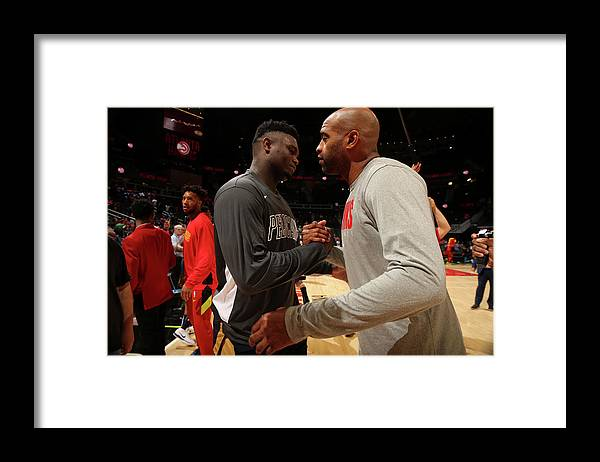 Atlanta Framed Print featuring the photograph Vince Carter by Layne Murdoch Jr.