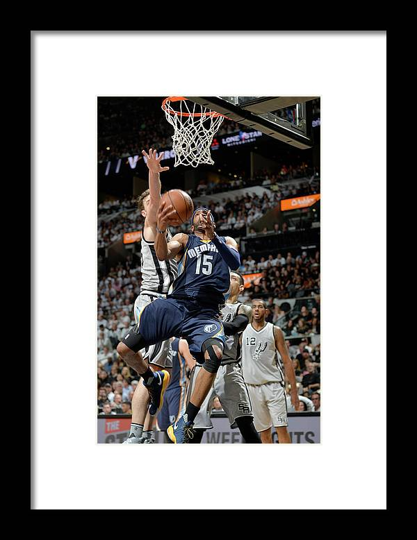 Playoffs Framed Print featuring the photograph Vince Carter by Mark Sobhani